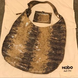 AUTHENTIC HOBO Gabor Style Shoulder Bag & Wallet